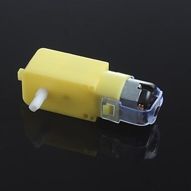 dc3v-6v dc dişli motoru tt motorlu akduvio için akıllı araba robot dişli motoru