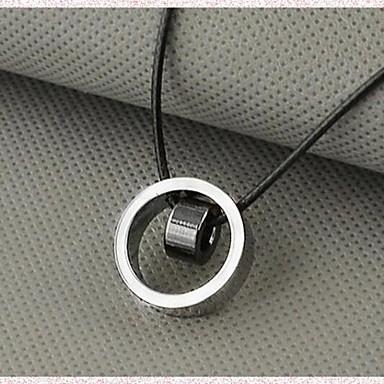 collier pendentif homme acier au titane argent. Black Bedroom Furniture Sets. Home Design Ideas
