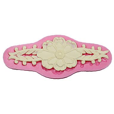 moldes rendas pasta de açúcar e mofo flor bolo de silicone