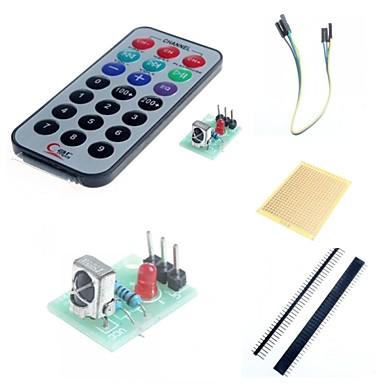 módulo receptor ir kit de controle remoto sem fio para e acessórios para arduino