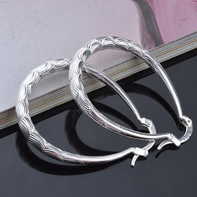 Σκουλαρίκι Κρίκοι Κοσμήματα 2pcs Γάμου / Πάρτι Τιτάνιο Ατσάλι Γυναικεία Ασημί