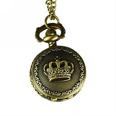 Heren Zakhorloge Kwarts Vrijetijdshorloge Legering Band Amulet Brons