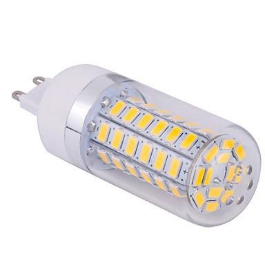 YWXLIGHT® 1pc 10 W 1500 lm G9 LED Mısır Işıklar T 60 LED Boncuklar SMD 5730 Sıcak Beyaz / Serin Beyaz 220-240 V / 1 parça