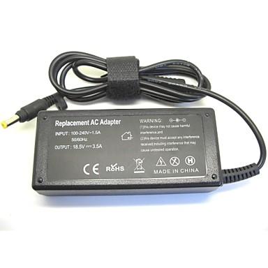 18.5V 3.5A 65W AC laptop strømforsyning oplader til hp 500 510 520 530 540 550 620 625 cq515