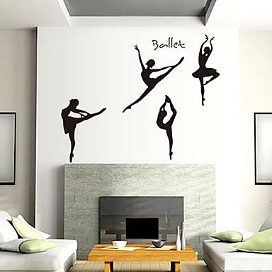 Çevre çıkarılabilir dans desen pvc etiketleri& etiket