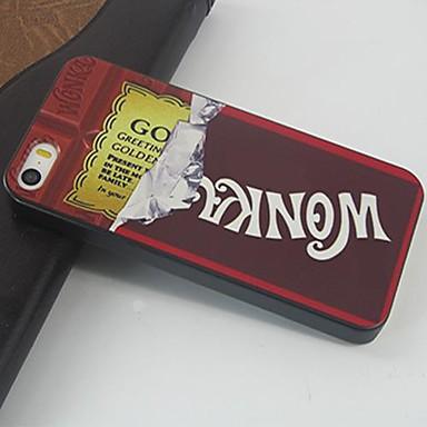 Κάλυμμα πίσω μέρους - Γραφικό/Ανάμεικτο Χρώμα/Κινούμενα σχέδια/Ειδικός Σχεδιασμός/Νεωτερισμός - για iPhone 4/4S/iPhone 4 Πλαστικό )