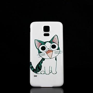 Samsung S5 I9600 - Back Cover - Grafisch/Speciaal ontwerp - Samsung mobiele telefoon Plastic )