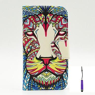 Para Capinha LG Porta-Cartão / Carteira / Com Suporte / Flip Capinha Corpo Inteiro Capinha Animal Rígida Couro PU LG LG G3