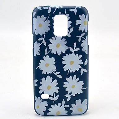 Para Samsung Galaxy Capinhas Estampada Capinha Capa Traseira Capinha Flor PC Samsung S5 Mini