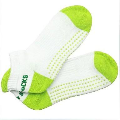 Γυναικεία Γιόγκα Κάλτσες - Μαύρο, Πράσινο, Ροζ Αθλητισμός Κάλτσες Ρούχα Γυμναστικής Αντιολισθητικό Ελαστικό