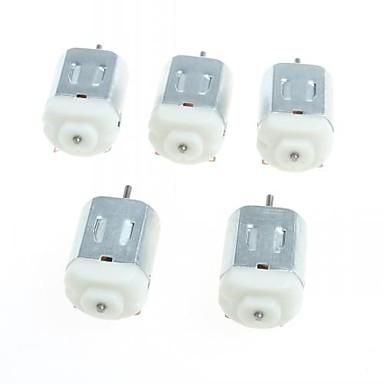 130 miniaturowe silniki dc silnika mała cztery koła mały silnik (5szt)