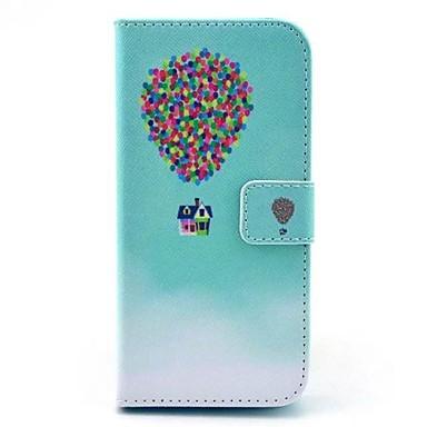 Voor iPhone 6 hoesje / iPhone 6 Plus hoesje Portemonnee / met standaard / Flip hoesje Volledige behuizing hoesje Ballon Hard PU-leer
