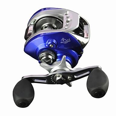 Molinetes de Pesca Molinete de Isca 6.3:1 Relação de Engrenagem+10 Rolamentos Canhoto Pesca de Mar / Pesca Voadora / Pesca Geral - LY-2