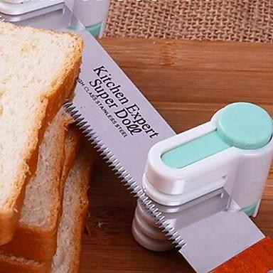 Bakeware araçları Paslanmaz Çelik / Plastik Çevre-dostu / 3D Ekmek / Kek / Tart Dekorasyon Aracı / Kesici ve Dilimleyici