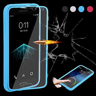 Samsung S5 I9600 - Полноразмерные чехлы - Однотонные - Мобильный телефон Samsung (Черный/белый/синий/Розоватый , Силикон/TPU)
