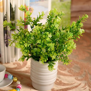 Κλαδί Πλαστικό Φυτά Λουλούδι για Τραπέζι Ψεύτικα λουλούδια