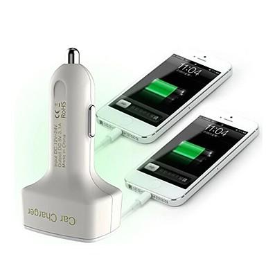 πολυλειτουργικό φορτιστή αυτοκινήτου ένδειξη τάσης / Amper και θερμοκρασία / δύο θύρα USB φορτιστής 12v 3.1a αυτοκίνητο
