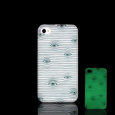 Pouzdro Uyumluluk iPhone 5 / Apple iPhone 5 Kılıf Karanlıkta Parlayan Arka Kapak Kuyruk Sert PC için iPhone SE / 5s / iPhone 5