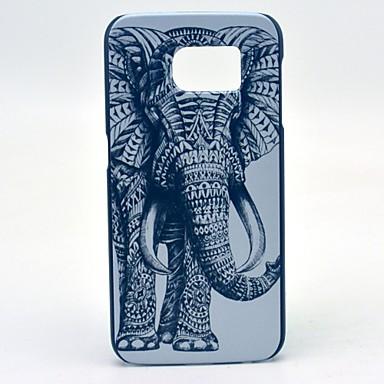 Para Samsung Galaxy Capinhas Estampada Capinha Capa Traseira Capinha Elefante PC Samsung S6