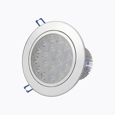 Downlight de LED Encaixe Embutido 18 LED de Alta Potência 1440 lm Branco Quente Branco Frio Decorativa AC 85-265 V 1 pç