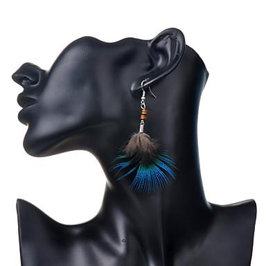Dames Druppel oorbellen Bohémien Veer Legering Veer Sieraden Feest Dagelijks Causaal Kostuum juwelen