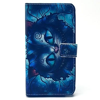 tok Για Samsung Galaxy Samsung Galaxy Note Θήκη καρτών Πορτοφόλι με βάση στήριξης Ανοιγόμενη Πλήρης Θήκη Κινούμενα σχέδια PU δέρμα για
