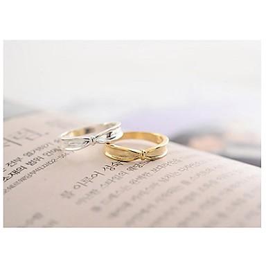 Dames Statement Ring Zilver Gouden Legering Bruiloft Feest Dagelijks Causaal Kostuum juwelen