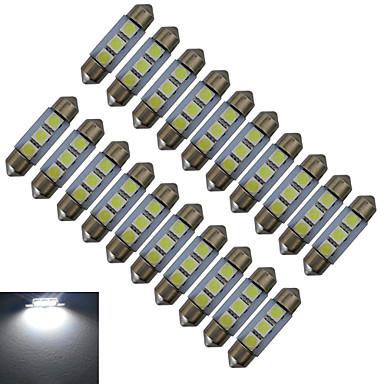 Недорогие Светодиодные электролампы-20pcs 1 W 60 lm 3 Светодиодные бусины SMD 5050 Холодный белый 12 V / 20 шт.