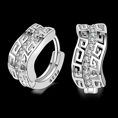 Σκουλαρίκι Κουμπωτά Σκουλαρίκια Κοσμήματα 2pcs Γάμου / Πάρτι / Causal Επάργυρο Γυναικεία Ασημί
