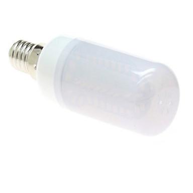 4W 350-400lm E14 Lâmpadas Espiga T 56LED Contas LED SMD 5050 Branco Quente / Branco Frio 220-240V / 1 pç / RoHs / CCC