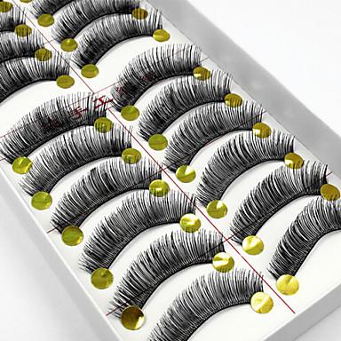 Kirpik Takma Kirpiker 24 pcs Hacimlendirilmiş Bukle Ekstra Uzun Günlük Makyaj Makijaż dzienny Klasik Kozmetik Tımar Malzemeleri