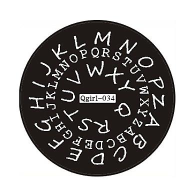 Abstracto/Adorável/Punk/Casamento - de Metal - para Dedo/Outro - 6*6*0.1 - 1