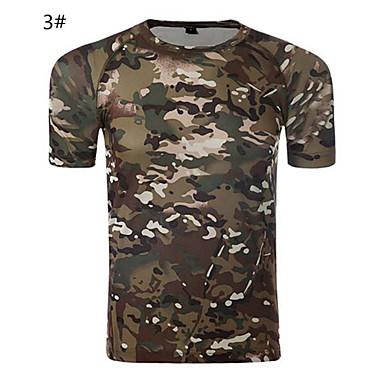 Buiten unisex T-shirt Kamperen&Wandelen / Jagen / FitnessAdemend / Ultra-Violetbestendig / Vochtdoorlaatbaarheid / Sneldrogend / wicking
