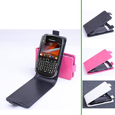 Για Θήκη BlackBerry Ανοιγόμενη tok Πλήρης κάλυψη tok Μονόχρωμη Σκληρή Συνθετικό δέρμα για BlackBerry