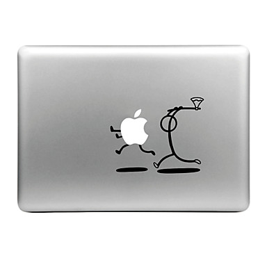 Hat-Prince Cut Apple Designed Removable Decorative Skin Sticker for MacBook Air / Pro / Pro with Retina Display