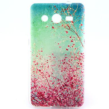 Para Samsung Galaxy Capinhas Case Tampa Estampada Capa Traseira Capinha Árvore PUT para Samsung Galaxy Core 2