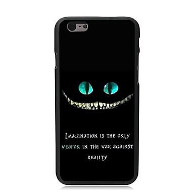 Pouzdro Uyumluluk Apple iPhone 6 iPhone 6 Plus Temalı Arka Kapak Kelime / Cümle Sert PC için iPhone 6s Plus iPhone 6s iPhone 6 Plus