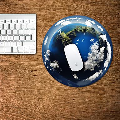 A superfície da terra design decorativo mouse pad mac adesivos