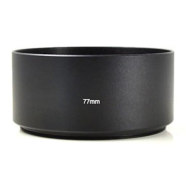 mengs® 77 milímetros de alumínio cobertura da lente teleobjetiva para canon nikon sony fuji pentax Olympus etc câmera digital DSLR