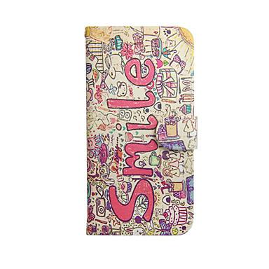 gekleurde tekening of patroon grafische pu leer full body cases voor de iPhone 6 plus / 6s plus