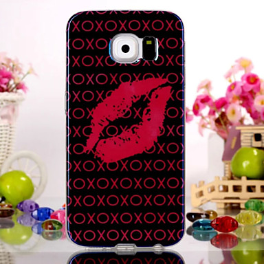 Για Samsung Galaxy Θήκη Με σχέδια tok Πίσω Κάλυμμα tok Σέξι κυρία TPU Samsung S6