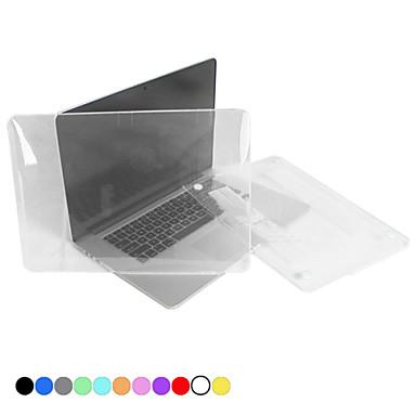 MacBook Θήκη για Συμπαγές Χρώμα Πλαστική ύλη MacBook Pro 13