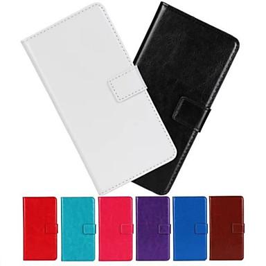4,5 inch luxe patroon portemonnee lederen case voor de Samsung Galaxy a3