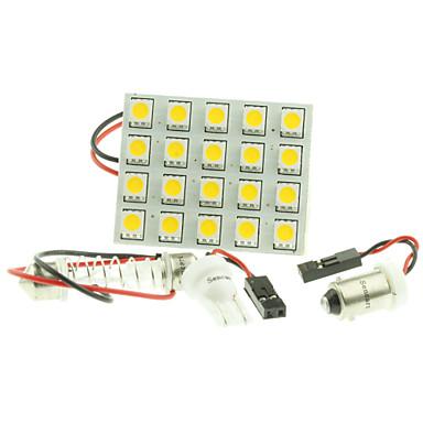 G4 BA9S Festoon T10 Αυτοκίνητο Λάμπες W LED Υψηλής απόδοσης SMD 5050 200-240 lm Φως Φλας ForUniversal