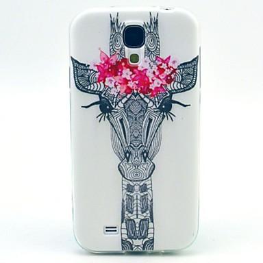 Para Samsung Galaxy Capinhas Estampada Capinha Capa Traseira Capinha Animal TPU Samsung S4 Mini