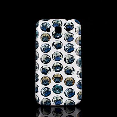 Para Samsung Galaxy Capinhas Estampada Capinha Capa Traseira Capinha Cachorro PC Samsung Win