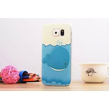 schilderen grafische / speciale ontwerp plastic achterkant dekken voor Samsung Galaxy s6 rand