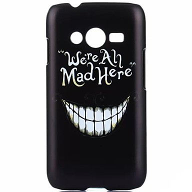 YMX-witte tanden patroon ontwerp patroon beschermende harde case voor Samsung Galaxy Ace 4 g313h