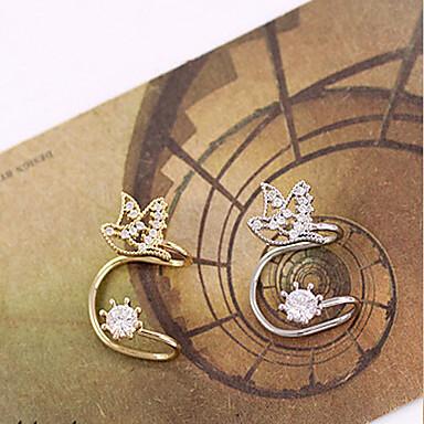 Punhos da orelha Pedras dos signos Liga Prata Dourado Jóias Para Casamento Diário Casual 1peça