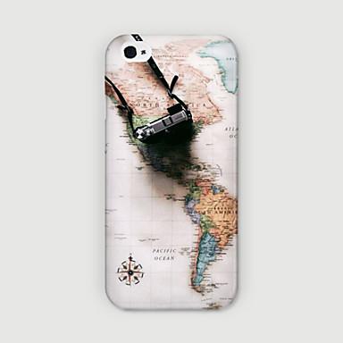 mapa da china padrão de telefone pc caso Capa para iPhone 6 mais caso